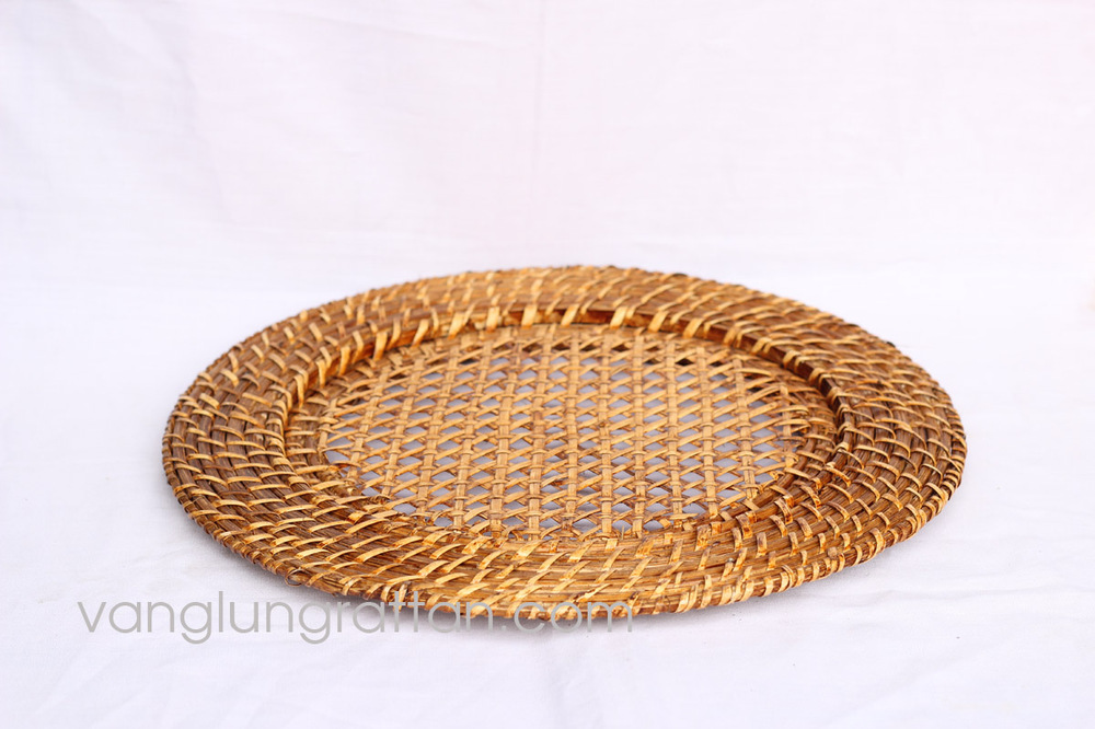 Bamboo Rattan Charger Plate