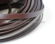 6mm Flat Leather Cord
