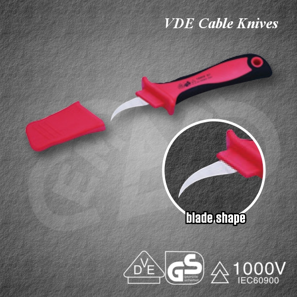 Powerful VDE Cable Knives PZCK-3 Insulated tool