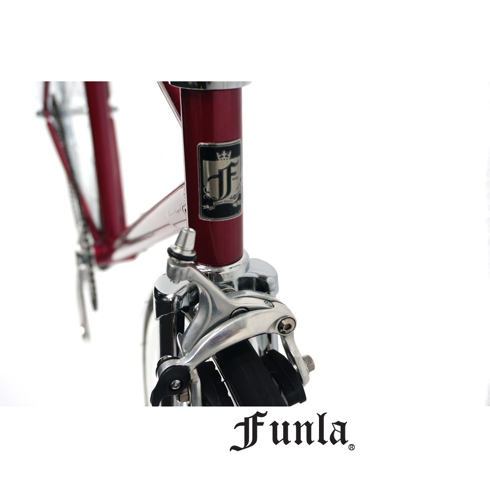 Funla Red Silver 700C Fixed Gear complete bike