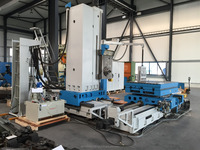 TABLE TYPE BORING AND MILLING MACHINE UNION WEMA GERA BFKF 110
