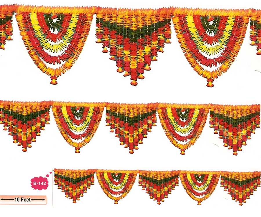 Artificial Flower Garland for Decoration by RH