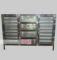 vintage style industrial cabinet furniture india / dining room sideboards design