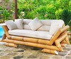 [wholesale]Bamboo sofa - Bamboo furniture - Double chair / Two seat / Single chair - Bamboo table / stool / otoman - Living room