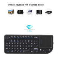 mini X1 2.4G wireless mini keyboard with touchpad