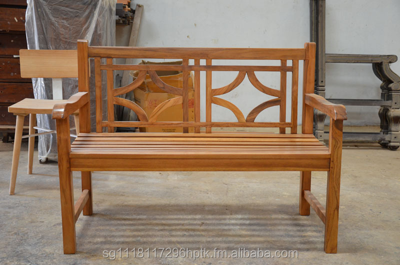Teak Garden bench 2 seaters USA