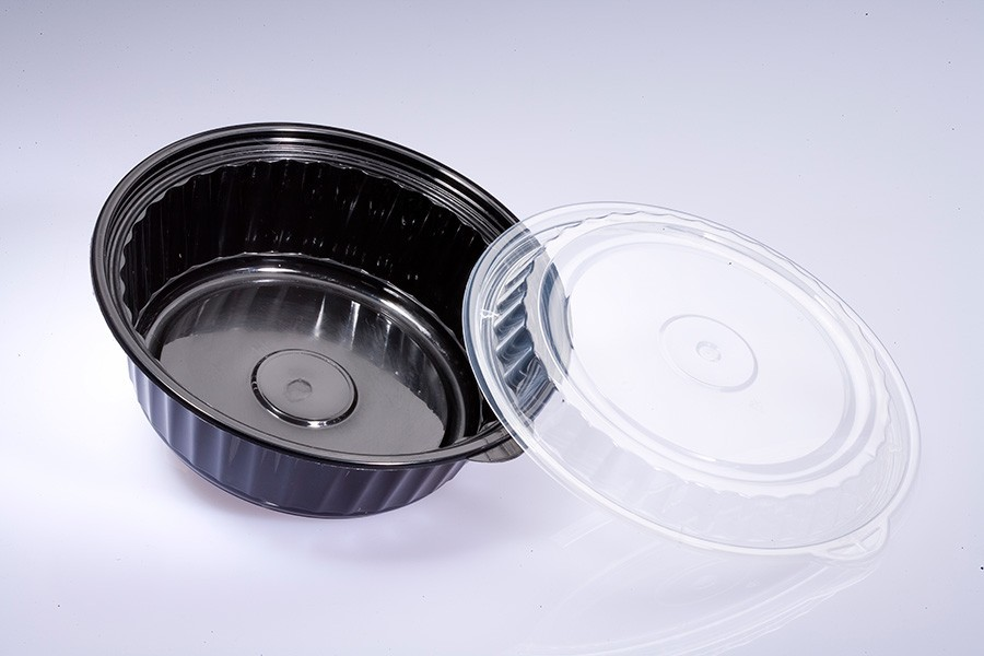 LIBERTY disposable microwaveable 1000ml PP food container
