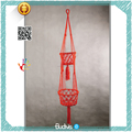 Double Storage DIY ECO Friendly Decorative Macrame Pot Planter Hanging Basket Cotton Rope