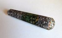 New Latest 2016 Orgonite Green Jade Massage Wand with Aluminium : Orgone cheap discounted rate