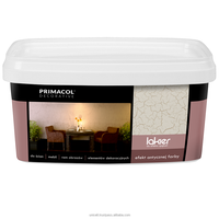 Primacol Decorative - Crackle Effect Varnish - 1l - Interior lacquer - High quality - Great effect