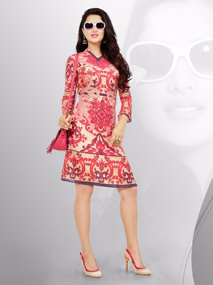 Indian Designer Kurti / Tunic For Summer / Indian Ethnic Wear Kurti.