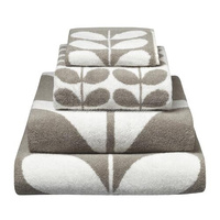 Grey color 100% cotton jacquard bath towel set