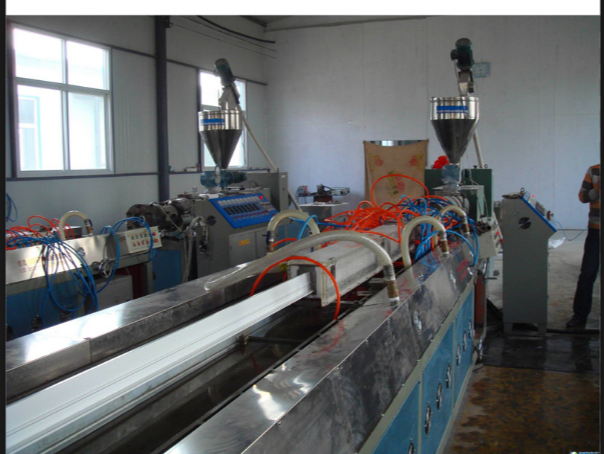 Second-Hand PVC Window Door Profile Factory for Sale in Turkey - Complete Machinery and Molds