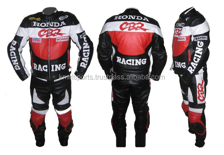one piece motorcycle leather suit/motorbike racing suit