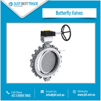 Butterfly Valve for Controlling Bidirectional Liquid Flow