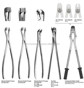 Equine Dental Instruments Tool Equipment Veterinary Surgical Equipment 55357