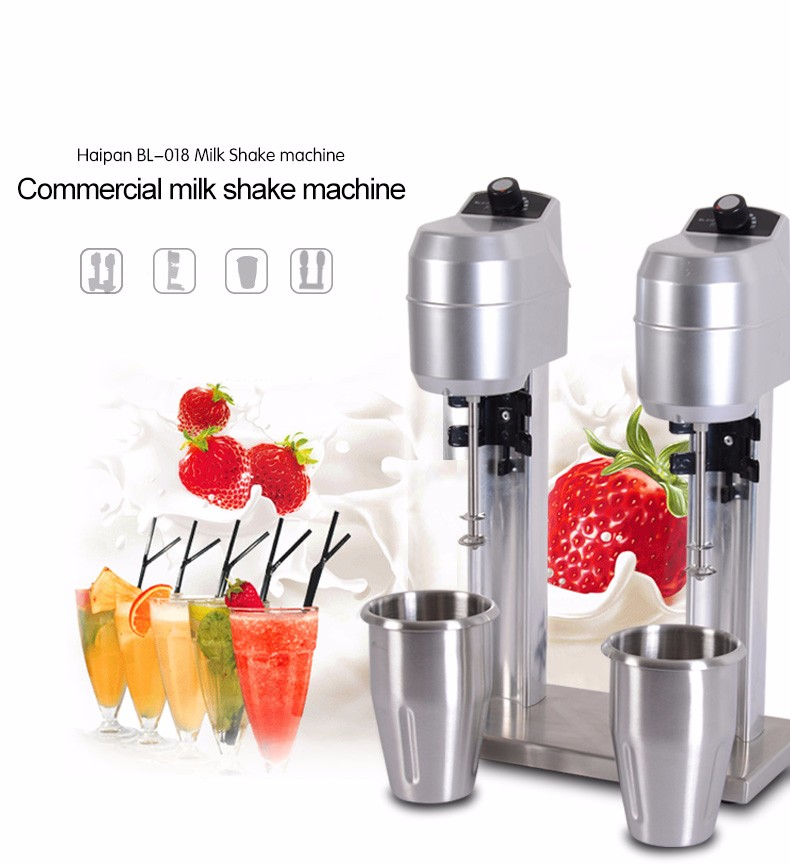 multi-function industrial kitchen living 2017 Hot New Products double jug commerical milk shake machine