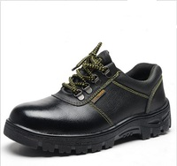 Hot sales cheapest men's steel toe industrial safety shoe