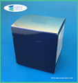 Metallic silver carton box, Cosmetic packaging box
