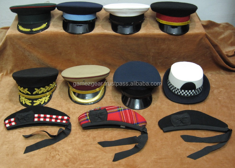 Military and Ceremonial Hats / Caps / Beret / Visors