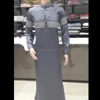 Buy Mens Wear Galabiyya, Islamic Clothing Dishdash Black Kurta ...