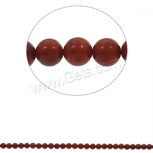 Natural Coral Beads Round red Grade AA 8mm Hole:Approx 1mm Length:Approx 15.7 Inch Approx 50PCs/Strand Sold By Strand