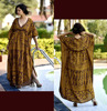 Stylish ladies kaftan dress