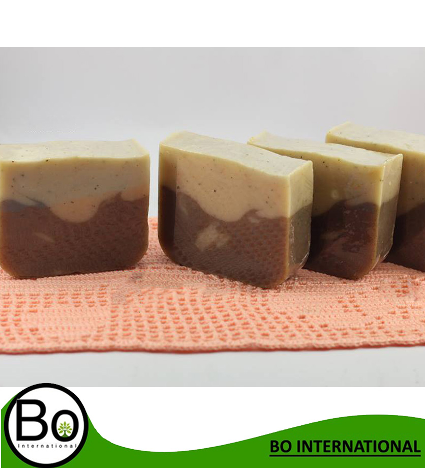 Green beans, cocoa powder, cocoa powder smell Blueberry Cold Process Natural Handmade Soap 100g