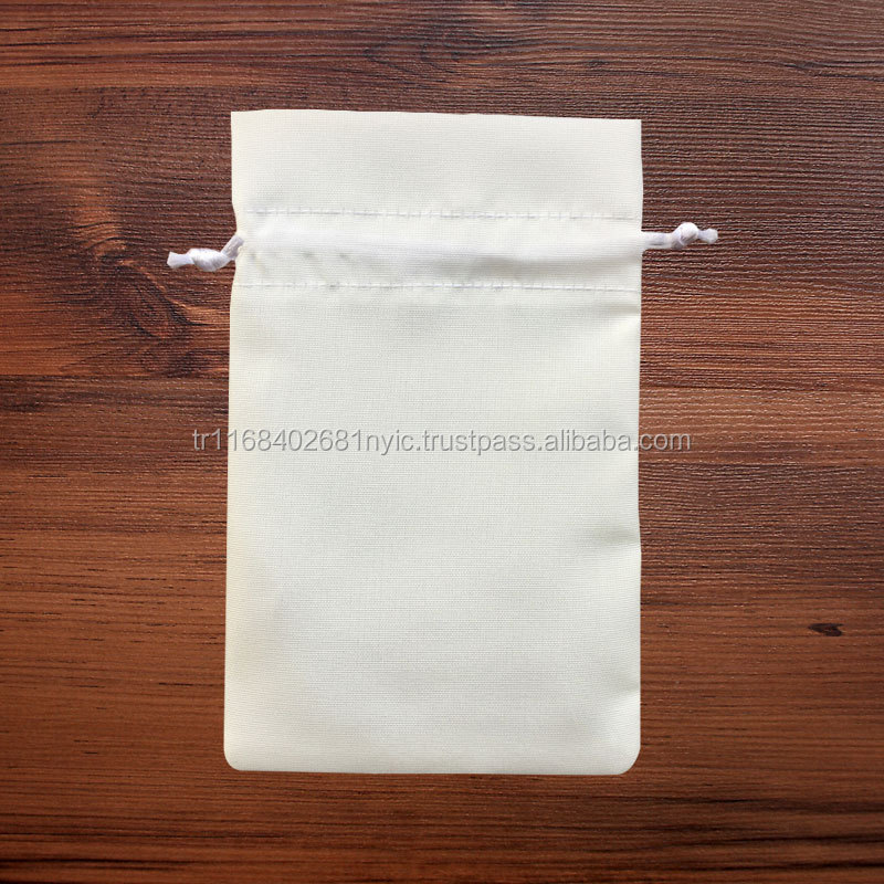 Promotional Satin Jewellery Gift Pouch for Digital and Sublimation