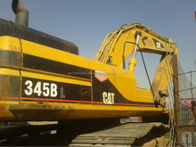 High cost effective used caterpillar 345BL excavator