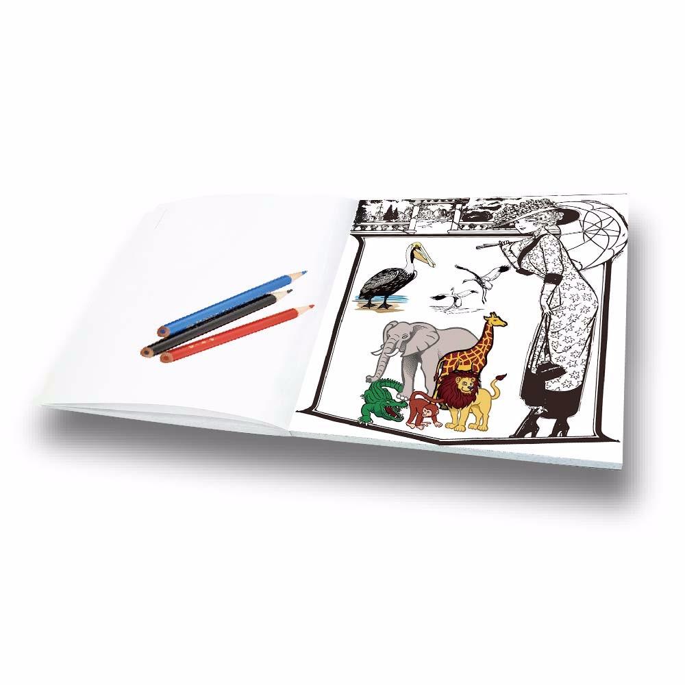 Hot Sale Hand Paint Secret Garden Adult Coloring Book For
