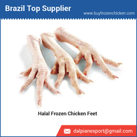 Halal Frozen Chicken Feet from Brazil
