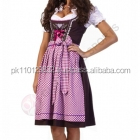 Custom Mini Dirndl with blouse & apron / Trachten Dirndl Dress / Traditional