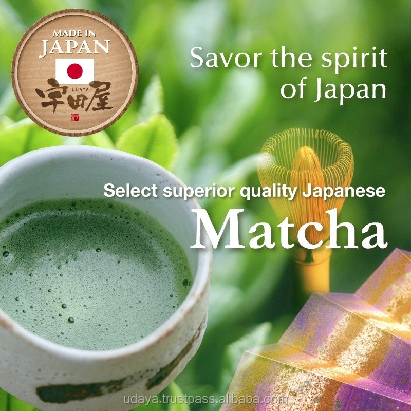 Japanese high grade ceremonial matcha powder for wholesale
