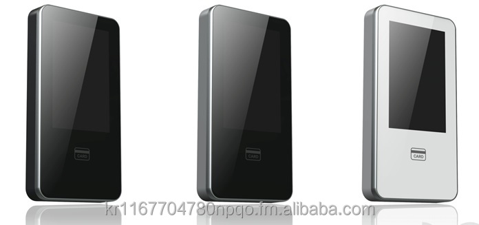 LG CNS SafezoneXID400, touch LCD RFID reader, NFC