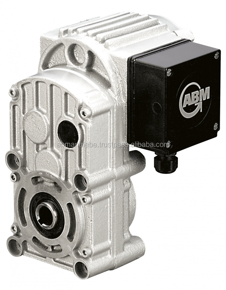 Parallel Shaft Gearboxes, 2- and 3-stage execution, Torque up to 2,300 Nm, corrosion resistant aluminum housing