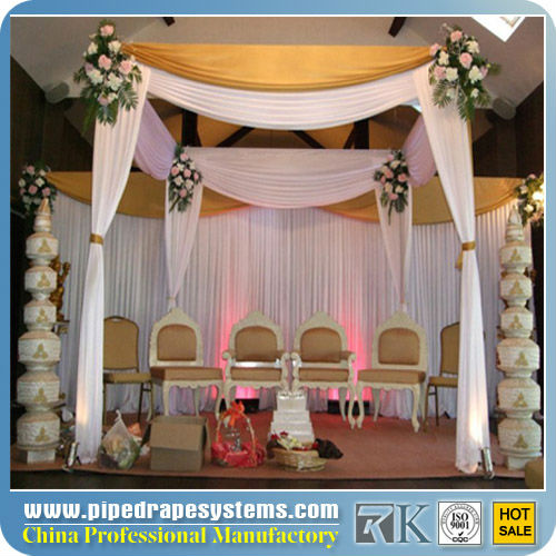 Pipe and drape wedding backdrop /wedding backdrop frame