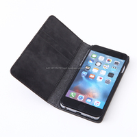 genuine leather flip cover phone case for 6, 6S