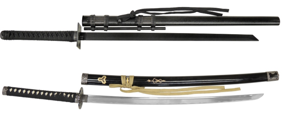 Japanese High Quality Metal Crafts Katana Samurai Swords