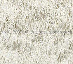 Faux Fur Long Pile Curly Fabric