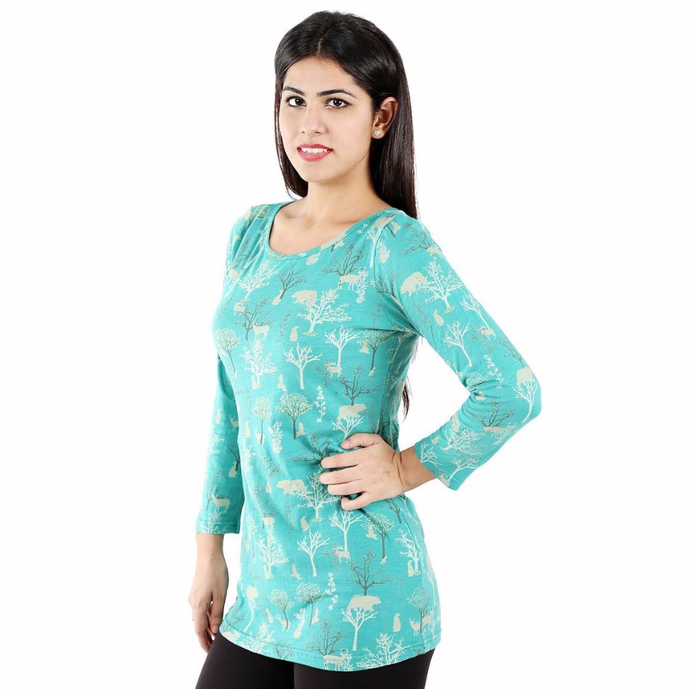 Beautiful Cotton Top by The Handicraft House LN-4