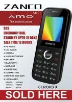 ZANCO AS2 latest 1.77 inch dual SIM mobile phone