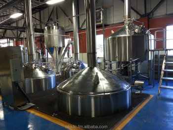 Beverage, brewing, distilling and packaging equipment