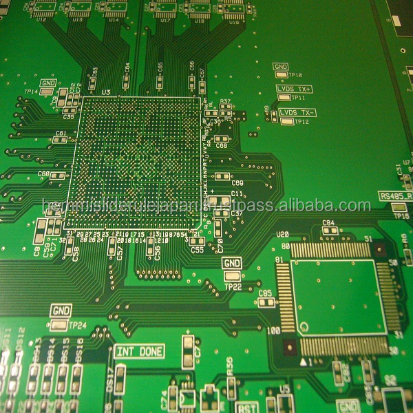 High quality PCBA assembly for high-currency control devices made in Japan
