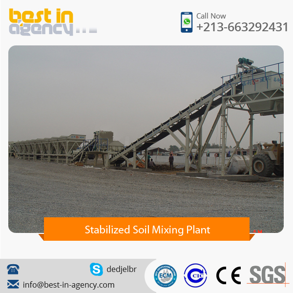High Quality Stabilized Soil Mixing Plant Available for Export Supply