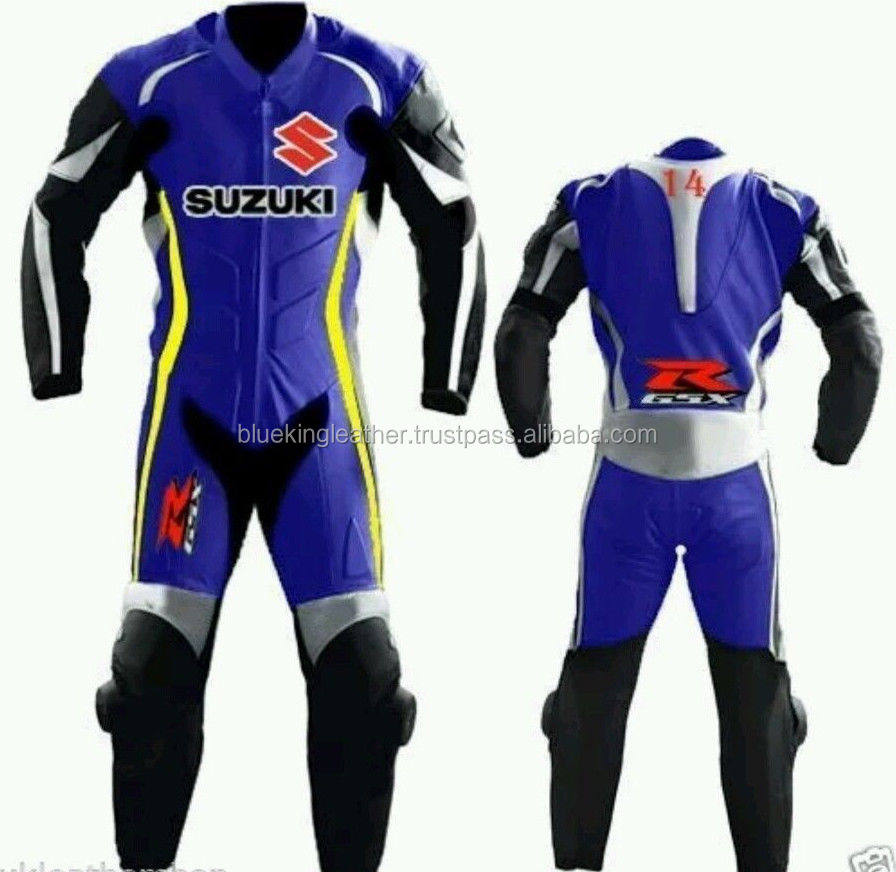 Men Blue Black Suzuki 2016 model RGSX with Safety Gears