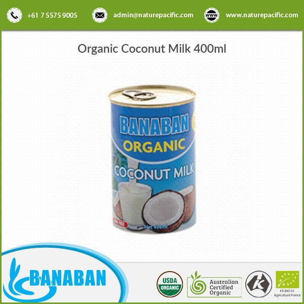 Top Brand High Quality Organic Coconut Milk in Cans for Export