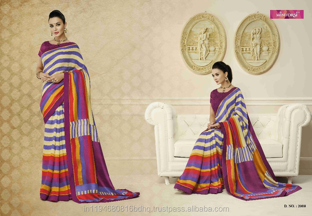 Women's Wear Fancy Party Wear Pashmina Silk Designer Saree Sari Shari