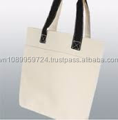 Wholesale Vietnamese Bags Manufacturer Customized Recycled Natural Promotional Cotton Bag/Heavy Cotton