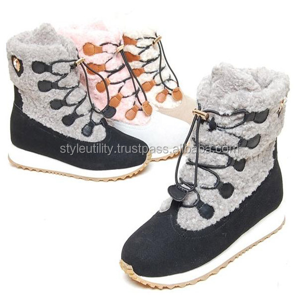 2sbd08275 3cm winter fur boots Available 3 pair order